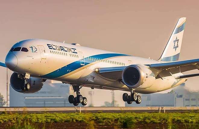 самолет 787 авиакомпании El Al