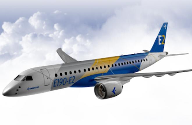 Создана первая металлическая деталь для Embraer E-Jet E2
