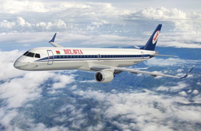 """Парк белорусской авиакомпании """"Белавиа"""" пополнится самолетами Embraer"""