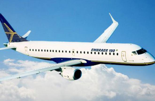 """Авиакомпания """"Международные авиалинии Украины"""" получила три самолета Embraer 190"""