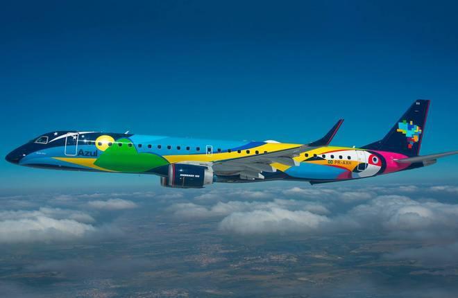 Embraer удвоил прибыль в 2016 г.