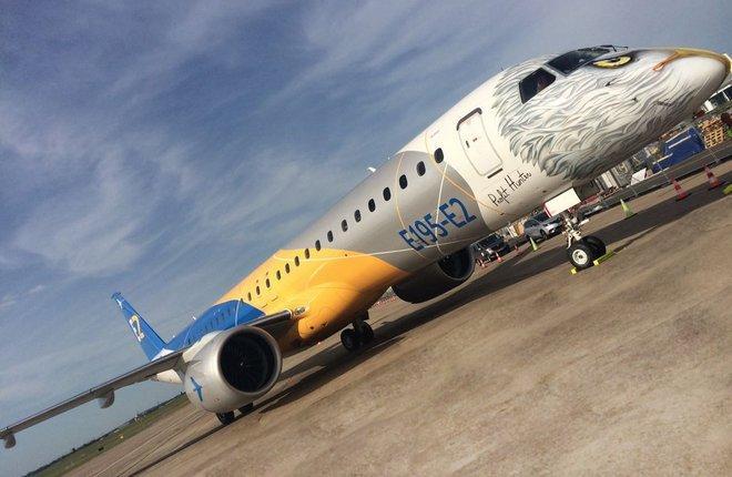Бразильский Embraer получил 28 заказов и поставил 35 коммерческих самолетов