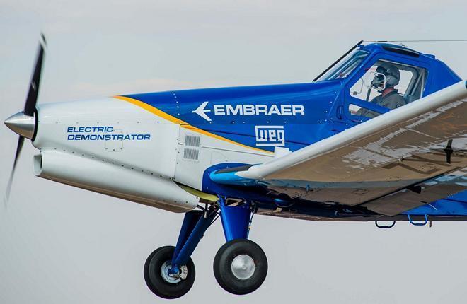 Embraer полностью электрический самолет ― технологический демонстратор
