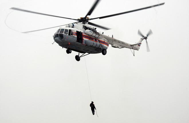 Сибирскому региональному центру МЧС России передали вертолет Ми-8МТВ-1
