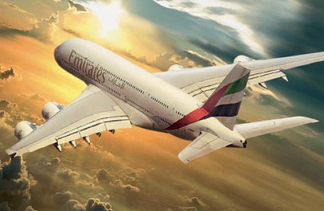 Авиакомпания Emirates на рейсах в Рим начнет эксплуатацию самолетов Airbus A380