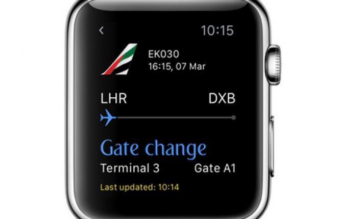 Авиакомпании заинтересовались часами Apple Watch