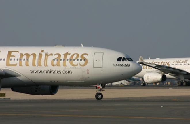 Прибыль авиакомпании Emirates в апреле–сентябре 2010 года возросла до 925,7 млн