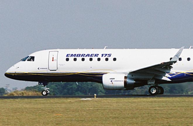 """Авиакомпания """"Белавиа"""" берет в лизинг самолеты Embraer-175"""