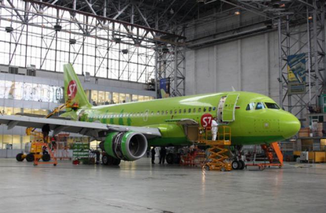 "Холдинг ""Инжиниринг"" завершил D-check  самолета Airbus A319"