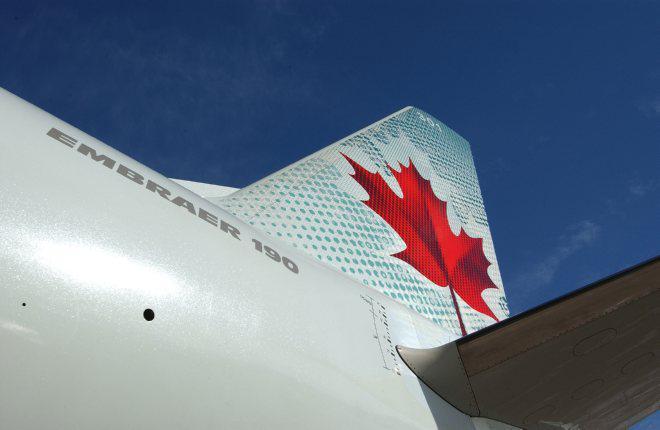 """Авиакомпания """"Оренбуржье"""" заинтересовалась самолетами E190 из парка Air Canada"""