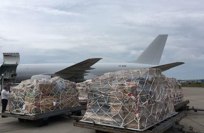грузовой самолет Boeing 757 авиакомпании Ерофей