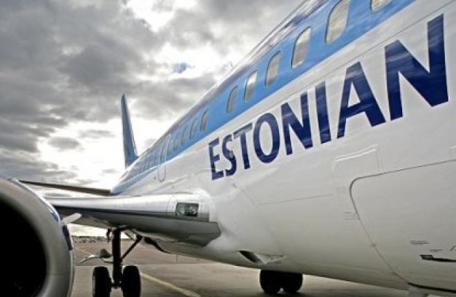 Авиакомпания Estonian Air растет в аэропорту Таллина