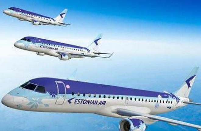 Пассажиропоток эстонской авиакомпании Estonian Air возрос на 46%
