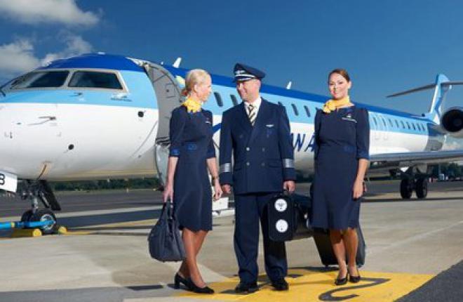 Авиакомпания Estonian Air будет летать в Москву 18 раз в неделю