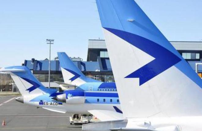 Пассажиропоток Estonian Air возрос на 71%