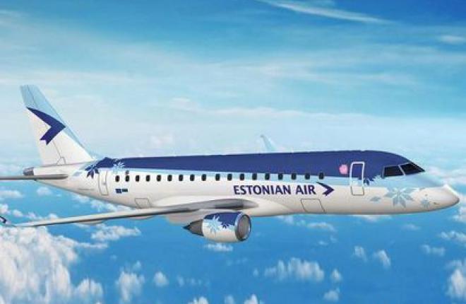 Эстонская авиакомпания  Estonian Air получила первый Embraer 170