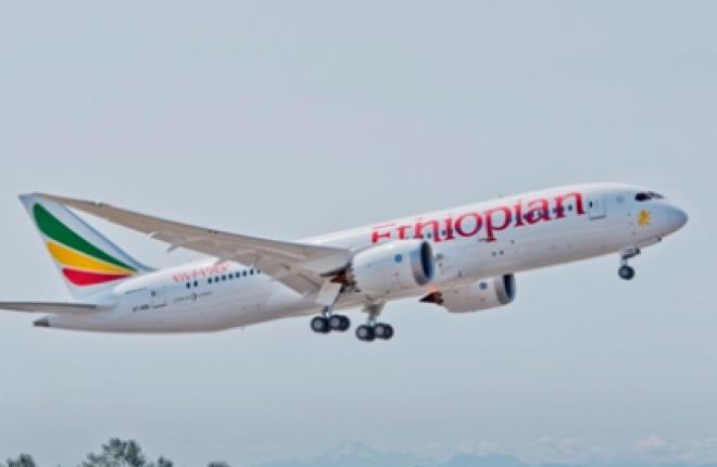 Авиакомпания Ethiopian Airlines получила первый самолет Boeing 787