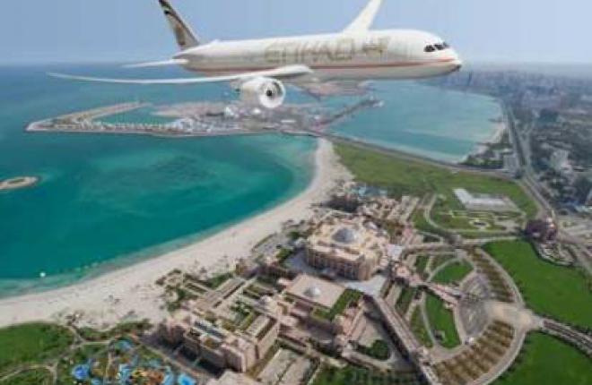 Авиакомпания Etihad Airways заказала 12 самолетов Boeing 787