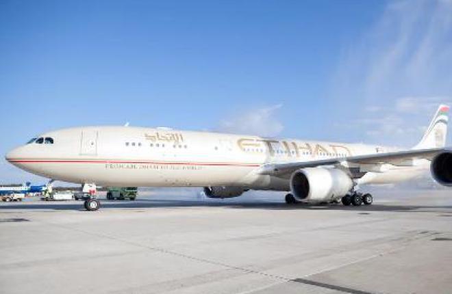 Выручка авиакомпании Etihad в I квартале 2013 года возросла на 15%