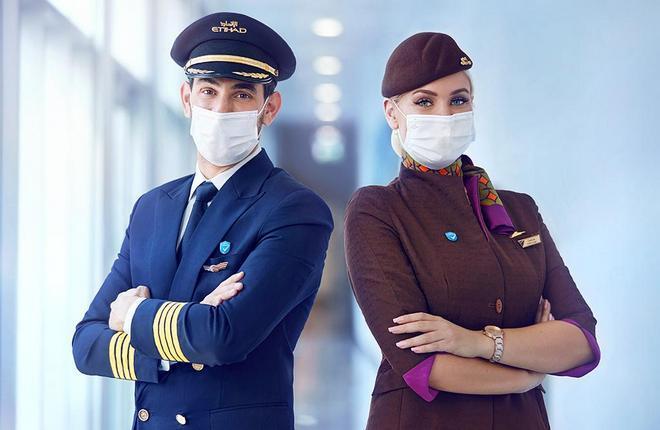 летный персонал Etihad Airways