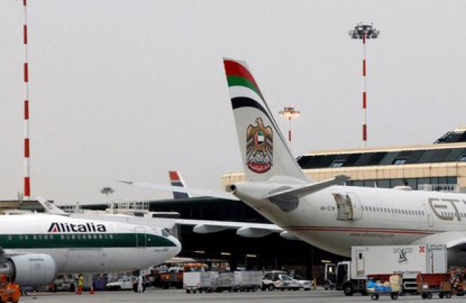 Авиакомпании Etihad Airways и Alitalia расширили код-шеринговое соглашение