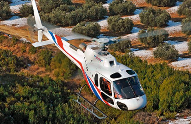 Самые популярные — Eurocopter семейства Ecureuil, и в первую очередь AS350 B3.