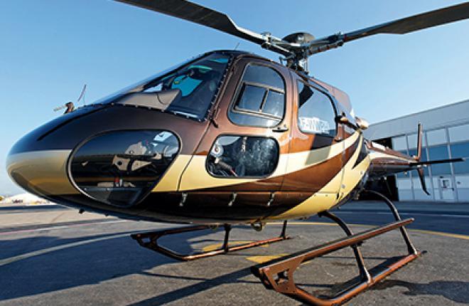 Этот AS350 B3e уже эксплуатируется в московском регионе