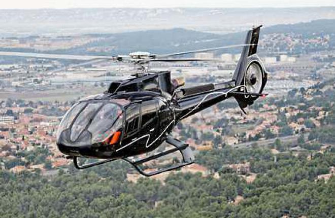 Первый в России Eurocopter EC130 T2 поставлен эксплуатанту