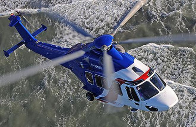 Вертолет Airbus EC175 сертифицирован по стандартам EASA