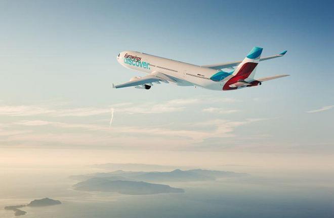 Входящая в группу Lufthansa и специализирующаяся на туристических перевозках новая авиакомпания Eurowings Discover