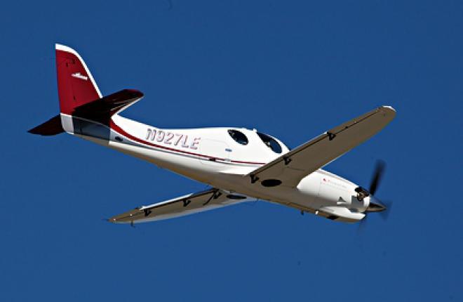 Lancair Evolution: легкий турбовинтовой самолет промежуточного класса
