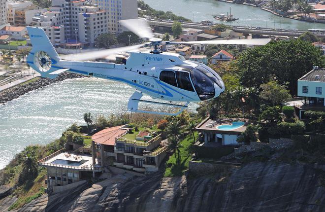 Airbus Helicopters и Uber тестируют вертолетное такси