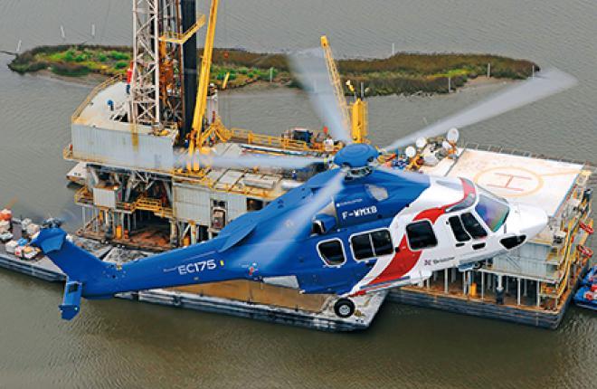 Airbus Helicopters объявил о создании модификации EC175 с увеличенным взлетным весом