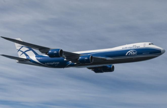 Авиакомпания AirBridge Cargo получила самолет Boeing 747-8F