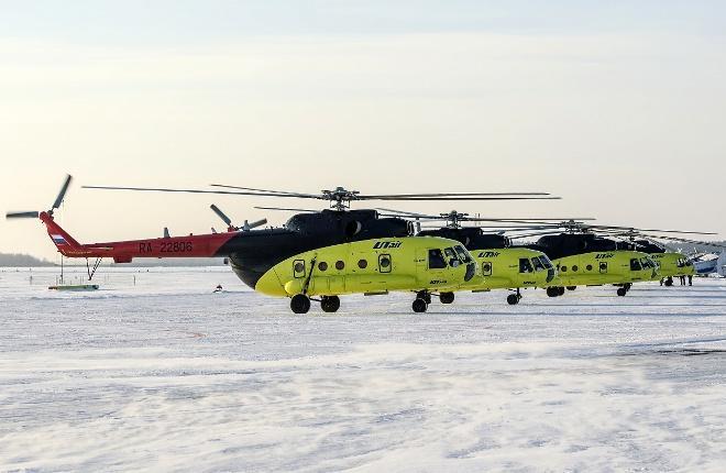 """Ми-8 авиакомпании """"ЮТэйр — Вертолетные услуги"""""""