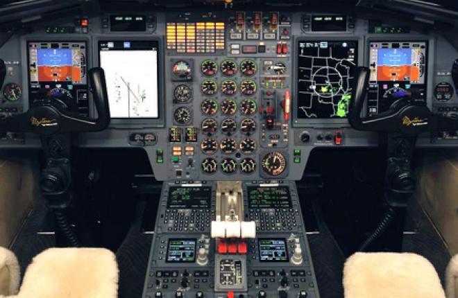 Ранние версии бизнес-джетов Dassault Falcon 900 оснастят новой авионикой