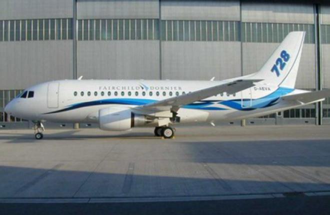 Проектирование Fairchild Dornier 728 приостановлено