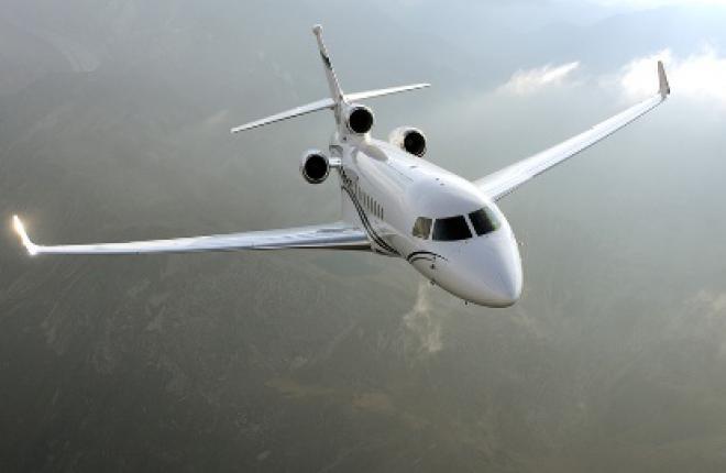 Налет бизнес-джетов Falcon 7X превысил 100 000 часов