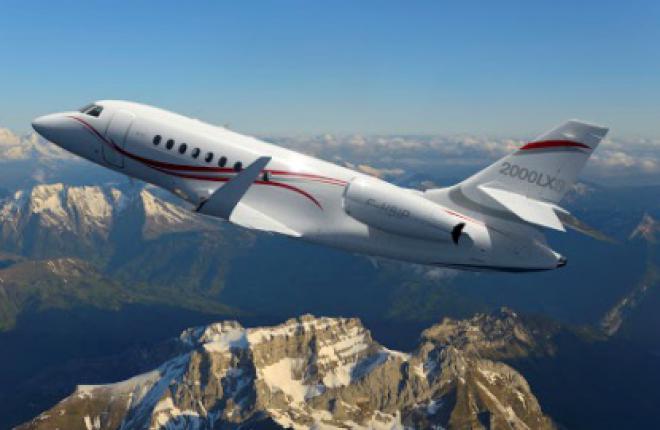 Dassault Falcon 2000S и LXS сертифицированы FAA