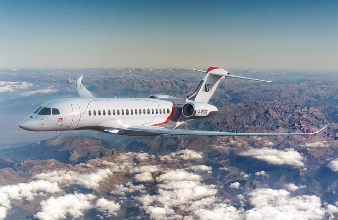 Dassault запускает ультрабыстрый, ультрадальний бизнес-джет Falcon 10X