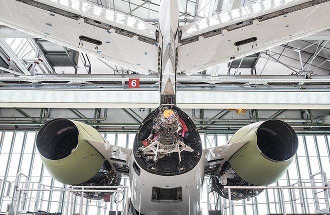 Falcon 6X assembly