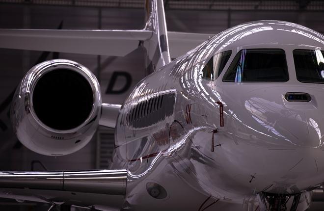 Dassault Aviation  8 декабря 2020 г. выкатка Falcon 6X