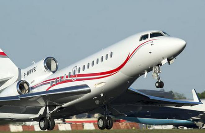 Заказы на бизнес-джеты Dassault Falcon за 2014 год выросли на 63%
