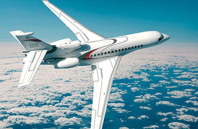 8Х получился самым большим по объему салона среди самолетов Dassault