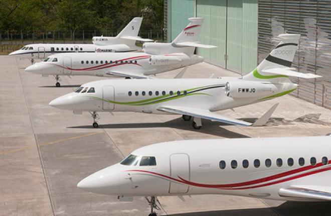"""""""Газпром авиа"""" обслужит чужие бизнес-джеты Dassault Falcon"""