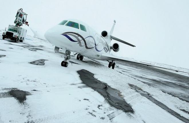 Dassault Aviation обслужит бизнес-джеты Falcon во время Олимпиады в Сочи