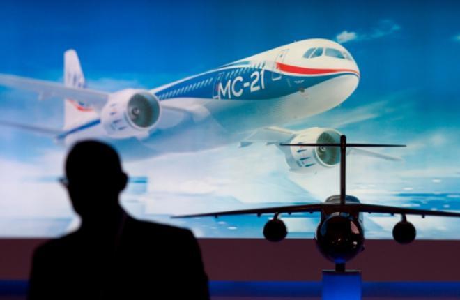 Первый полет самолета МС-21 намечен на апрель
