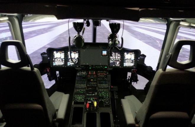 Сертифицирован полнопилотажный тренажер нового вертолета EC175