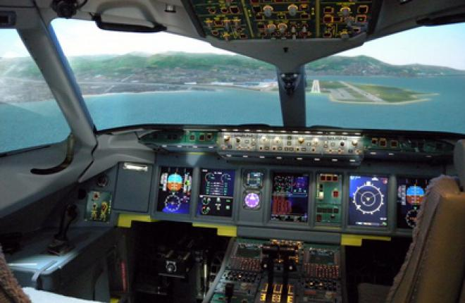 Полнопилотажный тренажер Superjet 100 поставлен в Жуковский