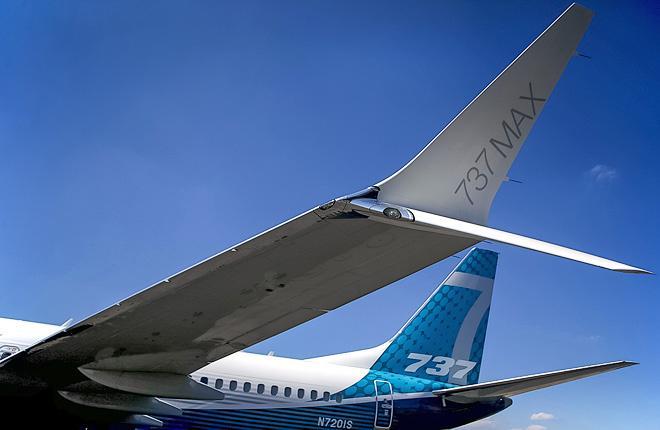 Самолет Boeing 737MAX-7